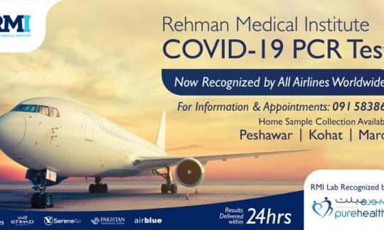 RMI COVID-19 PCR test is accepted by all UAE airlines.